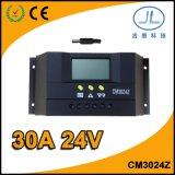 30A 24Vの太陽電池パネルの製品PWMの太陽電池の料金のコントローラ