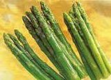 Gelé les asperges vertes