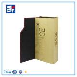 Boîte-cadeau de papier pliable de carton pour le vin et le thé de empaquetage