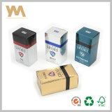 Logotipo personalizado de cartón de lujo en caja Perfume&Caja de cartón por el perfume