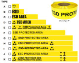 Anti colpetto statico di avvertimento della pavimentazione di ESD