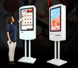 15.6, 17, 19, 22, 27, 32, 37, Kiosque de libre-service debout d'écran tactile d'étage de pouce utilisé pour le kiosque d'écran tactile LCD d'Ordermeal