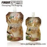 素晴らしい印刷の特別な形は立てる口(DQ01112)が付いている袋を
