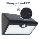 60 LED 태양 빛 PIR 운동 측정기 방수 옥외 LED 정원 비상사태 벽 빛