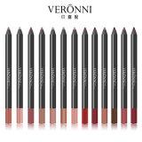 Veronni marca al por mayor de 13 colores Lip Liner Waterproof Long-Lasting Matte Lip Liner