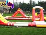 Fwpk-005 het opblaasbare Reuze Drijvende Park van het Water Custmoized