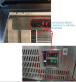 Handelskühlraum gebogener Schaukasten an der Gaststätte oder an der Kaffeestube (SCLG4-378FH)