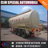 粉の物質的な交通機関のための半3つの車軸トレーラー、半30cbm-50cbm販売のためのバルクセメントのトレーラー