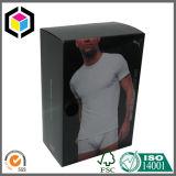 Rectángulo de empaquetado de papel de color de la impresión de la cartulina brillante de la ropa interior