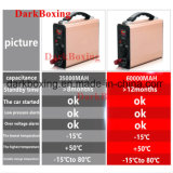 Côté Emergency de pouvoir de lampe de Tableau de chargeur rapide avec la batterie rechargeable portative 35000/60000mAh