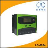 contrôleur intelligent solaire de charge de la batterie d'écran LCD de 60A 24V PWM