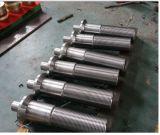 SAE4340 AISI4140鋼鉄モーターシャフトの鍛造材