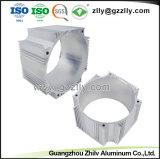 Fundição da fábrica de alumínio do cilindro do alojamento do motor com a norma ISO9001