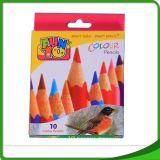 """"""" Crayon en bois mou populaire de couleur de forme ronde de la taille 7 normale"""