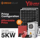 格子太陽エネルギーのパネルシステムホーム5kw 10kwのMoregesolar