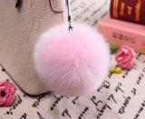 صنع وفقا لطلب الزّبون فروة [كي شين] تمويه فروة كرة لأنّ حقيبة زخرفة فروة [بوم] [بوم] مع حرف