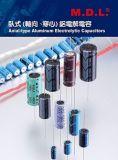 Tipo assiale condensatori elettrolitici di alluminio