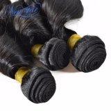 Estensione di trama naturale riccia allentata cinese non trattata dei capelli umani di 100%