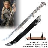 Espada 95cm HK8443su do filme de Collectibles da espada de Hobbit Thranduil