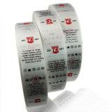 Одежда Label мягкий Качество пользовательских печать логотипа атласной лентой