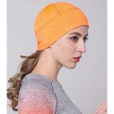 Girando la tapa del cráneo Beanie Deportes sudor Beanie Gran Ciclismo Gorras Helmet Liner Hat para Hombre Mujer Muti Color