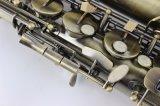 Wind-Instrument-Metallfertigstellungs-Alt-Saxophon für das Unterrichten