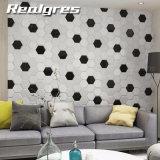Materiales de decoración de pared 173x150mm mosaico hexagonal