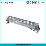 9*10W RGBW 4in1 DMX 단독 제어 LED 벽 세탁기 빛