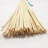 Blanco natural de la mecha de bambú con difusor de fragancia de aceites esenciales