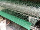 工場によって電流を通される金網の網