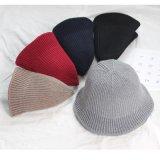 Chapeau fait sur commande de position de chapeau de l'hiver de coton
