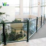 Style populaire Le verre feuilleté avec le châssis pour système d'une balustrade