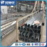 OEM 6063-T5 Profiel het Van uitstekende kwaliteit van het Aluminium voor de Muur van het Glas