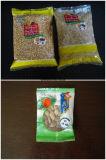 微粒の塩はくだらない穀物のビーフ・ジャーキーのポップコーンの日付のポテトチップの豆の軽食のVffsの包装機械縦のパッキングMachine420を欠く