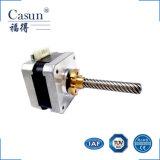 NEMA 17 de Casun 42 fase do milímetro 2 fabricante híbrido customizável Stepmotors do motor deslizante do ruído e da inércia do torque de 1.8 graus de altura baixo mini