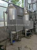 蒸留の単位をリサイクルする使用された黒い潤滑油