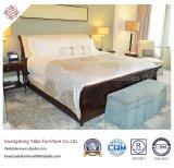 ベッドのベンチ(YB-W25)が付いているヨーロッパ式のホテルの寝室の家具