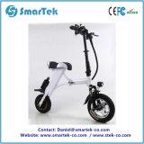 Motorino elettronico pieghevole Ebike di mobilità della bici della bicicletta di modo di Smartek con 12inch la gomma anteriore P13