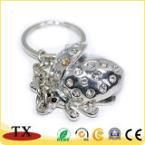 Fabrique en Chine grenouille Animal personnalisé de la forme de chaîne de clé