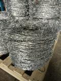 안전에 의하여 보호되는 면도칼 가시철사 (BTO-28)