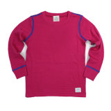 100% Merino Wool Children' S Thermal Red Underwear for Winter