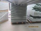 Panneau ondulé gris de toiture de FRP, épaisseur de 2mm, longueur de 5.8m, largeur de 1.07m