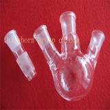 Freier runder Stutzen-Glas-Kolben der Unterseiten-3