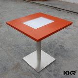 Tabelle pranzanti del ristorante di superficie solido del quadrato 700mm
