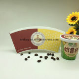 Ventilador de papel barato de la taza de papel de la materia prima de la taza de café 8oz