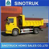 Sinotruk 4X2 덤프 트럭 8t 팁 주는 사람 트럭 작은 쓰레기꾼 트럭