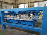 Stahlplatte, die Aufschlitzenund Ausschnitt-Maschine nivelliert