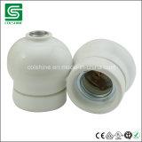 Rétro douille de lampe pendante en céramique de porcelaine de support de lampe de Colshine E27 pour la décoration intérieure