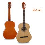 Ручная работа Aiersi 39-дюймовый цветной классическая гитара из розового Fingerboard
