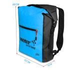 el bolso impermeable al aire libre del almacenaje del saco del morral del bolso seco 25L que transporta la natación Canoeing Kayaking de los deportes en balsa empaqueta los morrales de los kits de recorrido